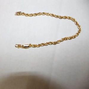 Jewelry - Estate Find 14K Rope Bracelet